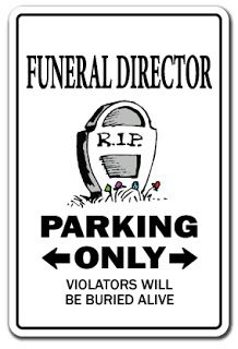 Funny Funeral Burial Suit Joke Picture
