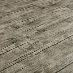 Sawtooth Grey Luxury Vinyl Plank Flooring 4mm X 6 48