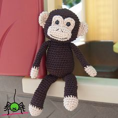 The Itsy Bitsy Spider Crochet: Amigurumi Monkey Doll