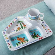 Fisher Price Learning Serving Set of Three,Dinner Sets