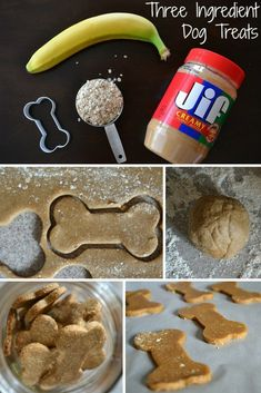 How To Make Peanut Butter And Banana Dog Treats