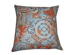 THROW PILLOW sham / cover fits 18x18 by DAWNSDECORANDMORE on Etsy