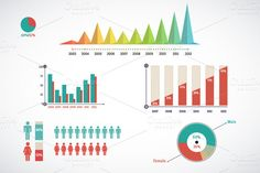 Detail infographic vector @adobeResources