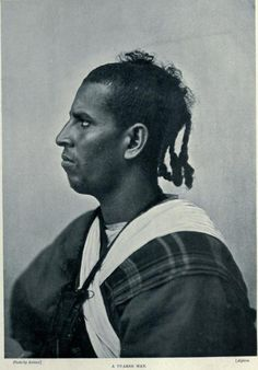 An Errifi berber of Morocco.In Spain this moor would be termed a Hamara or with reddish undertones in the skin.