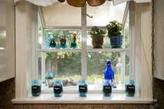 Shelf, windowsill, or the perfect garden! Use that natural light & open space for your very own herbs. Window Sill, Jar, Decor, Perfect Garden, Open Space, Mason Jar Herb Garden, Ball Jars, Home Decor, My Furniture