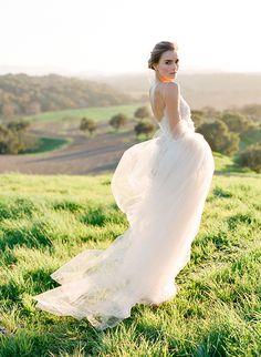 Samuelle Couture gown | Jose Villa