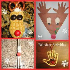 Teaching with TLC: Fun Reindeer Activities