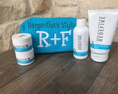 Items similar to Small Blue Cotton Waffle Embroidered R+F Cosmetic Bag, Advertise R+F, Custom Rodan and Fields Regimen Bag, R + F Swag, Monogrammed R+F Bag on Etsy Personalized Makeup Bags, Personalized Gifts, Adoption Gifts, Embroidered Gifts, Christmas Gift Box, Toddler Gifts, Craft Business, Childrens Party, New Baby Gifts