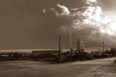Barba Albastra: industrial sky