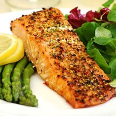 Grilled Salmon With Herb Crust   Travis Martin TV - Weight Loss and Wellness