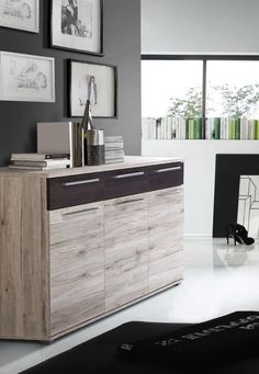 Sideboard Eiche Antik/ Touchwood Woody 77-00490 Holz modern Jetzt ...
