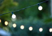 Ideas for Italian themed party. (Don' forget the strands of lights!)