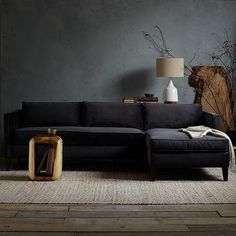 Dunham Down-Filled Sectional - Box Cushion #WestElm Upholstery options: http://www.westelm.com/resources/related-articles/special-order-upholstery.html?cm_type=lnav