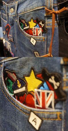 Un détail bien placé peut tout changer ! #LeBonMarche #Denim #AtelierNotify #Jeans #women #Personnalisation #Femmes