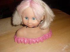 hlava panenky