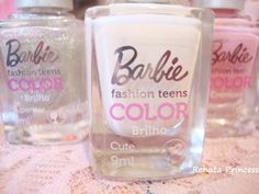 Barbie nail polish<3