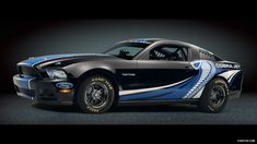 2012 Ford Mustang Cobra Jet Twin-Turbo Concept Black - Side, 1920x1080, #26 of 28