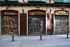 Calle de la Cruz. Barrio de Sol. Madrid. 2015