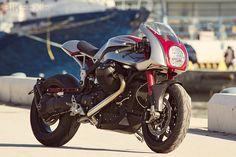 "beautifull, creative, design, engine, industrial, machine, motorcycles,Moto Guzzi Griso ""Ipothesys"""