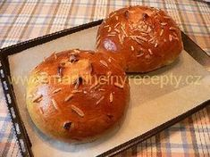 Mazanec z fary Pan Dulce, Dessert Recipes, Desserts, Sweet Recipes, Cheesecake, Muffin, Easter, Sweets, Bread