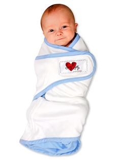 Baby Products We Can't Live Without: Miracle Blanket and Snug & Tug Swaddle Blankets (via Parents.com)