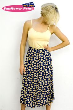 '90s Trend: SUNFLOWERS!!!
