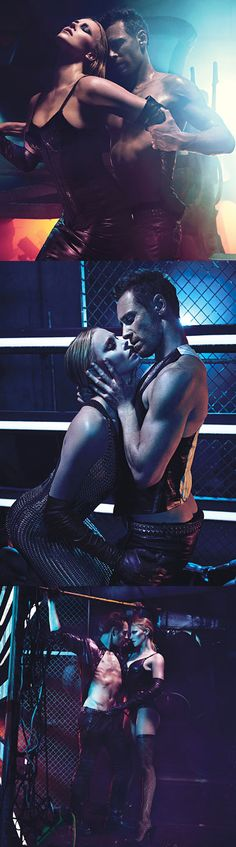Charlize Theron and Michael Fassbender for W Magazine.
