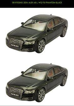 1:18 Kyosho 2014 Audi A8 L W12 FSI Phantom Black #parts #technology #tech #kyosho #shopping #drone #fpv #gadgets #plans #racing #kit #audi #products #camera