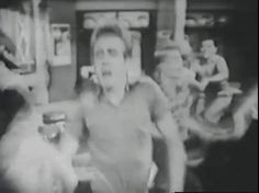 "James Dean in Omnibus -episode ""Glory in the Flower"" aired in 1953, where he danced to the song ""Crazy Man, Crazy"" by Bill Haley and his Comets. This was one of the first dramatic TV programs to ever feature rock and roll."