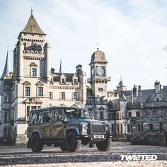 Land Rover Defender 110 Twisted Modified- Never out of place...