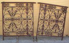 french antique iron gates - Google Search