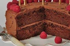 This beautiful Chocolate Butter Cake has two layers of moist and tender chocolate butter cake sandwiched together and frosted with a delicious chocolate frosting. From Joyofbaking.com