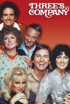 Three's Company (1977-1984) - The original cast. I still miss John Ritter! Best slapstick comedian of his generation.