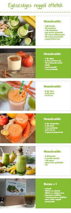 Healthy Juices, Healthy Drinks, Healthy Tips, Healthy Dinner Recipes, Diet Recipes, Healthy Snacks, Vegan Recipes, Yummy Smoothies, Smoothie Recipes