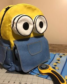 DIY Minions Backpack