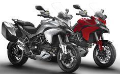 2013 'Skyhook' Ducati Multistradas unveiled -   Motorbike reviews   Latest Bike Videos   MCN