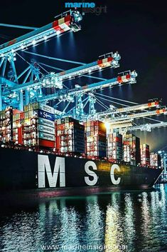 Marine Insight - The Maritime Industry Guide Mb Truck, Maersk Line, Sea Of Stars, Marine Engineering, Sea Containers, Warehouse Design, Gantry Crane, Background Images For Editing, Our Planet Earth