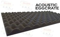 """2 Pack Acoustic Foam Egg Crate Panel Studio Soundproofing Foam Wall Tile 2\"""" X 12\"""" X 24\"""" *** Details can be found by clicking on the image."""