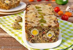 drob-de-ciuperci-cu-oua-de-prepelita-0 Vegetarian Recipes, Healthy Recipes, Healthy Food, Avocado Toast, Banana Bread, Food And Drink, Mexican, Vegan, Breakfast