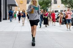 The+Latest+Street+Style+Photos+From+New+York+Fashion+Week+via+@WhoWhatWear