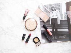 A drugstore beauty haul.
