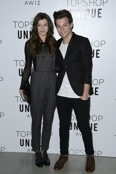 Eleanor Calder in Topshop & Louis Tomlinson in Topman- Thank u so much @Topshop  I really love all the collection! Xxxxx...y is it that she can pull off anything???