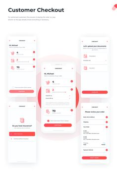 The app helps patients find medicines available in the pharmacies nearby, make the purchase and get the drugs delivered. App Ui Design, Mobile App Design, Web Development Company, Ui Ux, Pharmacy, Videos, Templates, Behance, Logos