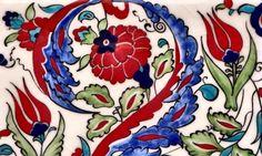Glazed Floral Turkish Tiles