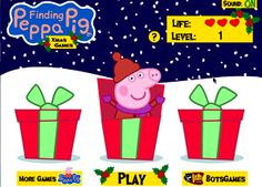 Finding Peppa Pig Navidad
