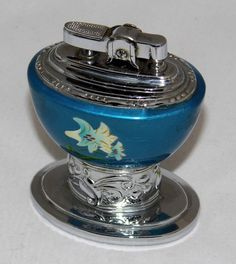 https://flic.kr/p/ypEtVm | Vintage Royal Star Table Cigarette Lighter, Made In Japan