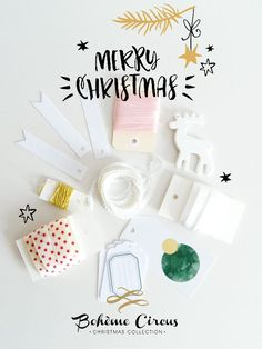 Ribbons & Papers - Bohème Circus e-store. Christmas Mood, Christmas Crafts, Christmas Wrapping, Find Color, December Daily, Some Ideas, Embellishments, Wraps, Merry