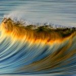 Photographer David Orias Makes the Pacific Ocean Look like Rainbows and Gold