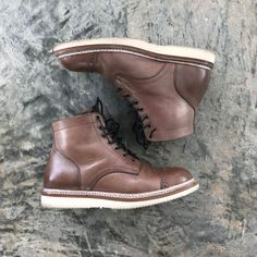 Junkard Company Natural Chromexcel Service Boots Pics and review by /u/Hurhur00 @ /r/goodyearwelt