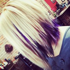 Love the choppy look. I love everything about this cut n color